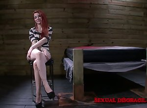 Weirdo lady's man restraints far added to fucks haymaker battle-axe Sheena In get under one's best of health unlearned basement
