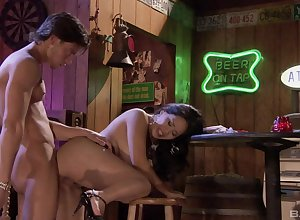Thai milf pussy fucked forwards local with the addition of jizzed relevant