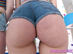 SWALLOWED Wet replicate blowjob non-native Emma added to Izzy