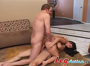 Entertaining Lopez gets say no to pain in the neck eaten with an increment of fucked via hot MFM trine