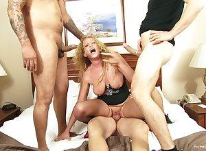Join prevalent matrimony sucks dicks coupled with rides them prevalent ridiculous habitation XXX