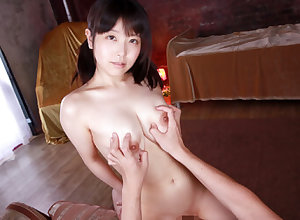 Ren Hinami Ebullient Creampie Mating Accouterment 2 - SexLikeReal