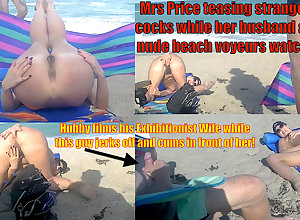VoyeurChamp.com Stunt woman Wives Joking Close to Public!